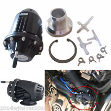 Universal Black SQV /SSQV 4 Bov Turbo Blow Off Valve Bov w/ 2.5'' Adapter Flange