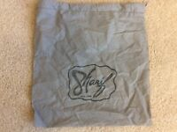 "Sharif New York Storage Dust Bag Shoe Cover Gray 13"" X13"".  (p6)"