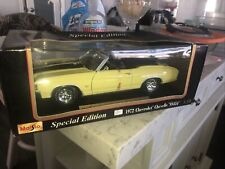 Maisto Spec.Ed.1972 Chevy Chevelle Ss 454 Conv. 1:18 Diecast Low! $9 Shipping!