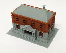 Outland Models Railroad Government Dept / City Hall / Police Station N Scale