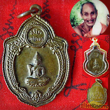1 VERY RARE FIRST Phra Rian Buddha Kwag Coin LP Suang Lucky Rich Buddha Amulet