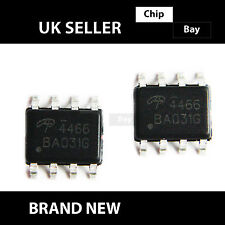 4x Alpha & Omega AO4466 4466 30V N Channel MOSFET SOIC-8 IC