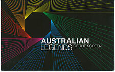 Australia Stamps: 2009 Legends of the Screen Stamp Pack
