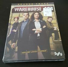 Warehouse 13: Season Three (DVD, 2012) 3 SyFy tv series show Eddie McLintock NEW