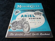 The Motor Cycle Magazine - 11 May 1953. Ariel Hunter.