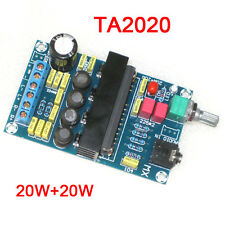 DC 12V TA2020 Class T 20W+20W Dual Stereo Digital Audio Amplifier Board