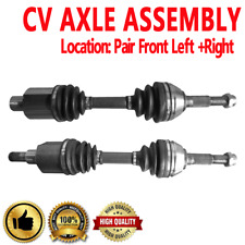 FRONT Driver & Passenger CV Axle For GMC JIMMY 1997-2004 SONOMA 1997-2004 4WD