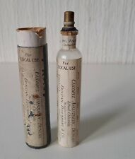 More details for antique victorian medical chloryl anesthesia bottle