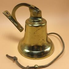Brass Dinner Bell With Patina Mountable great Quality
