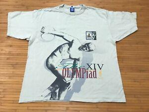 XL - Vtg 1992 The Olympiad XIV 90s Atlanta 1996 Olympics Champion T-shirt