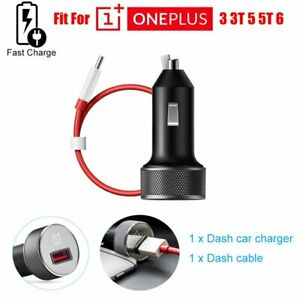 Dash Fast Charging Car Charger Adapter+Type C Cable For Oneplus 6T 6 5T 5 3T 3