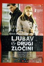 LOVE & OTHER CRIMES #1 ANICA DOBRA 2008 SERBIAN MOVIE POSTER