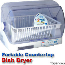 compact portable dish dryer tabletop small apartment mini