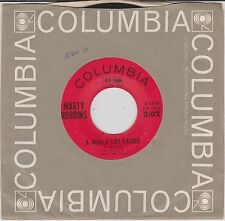 MARTY ROBBINS {60s C&W} A Whole Lot Easier / I-Eish-Tay-Mah-Su ♫HEAR