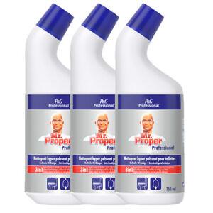 3er Pack Meister Proper Professional WC-Reiniger 3x750 ml