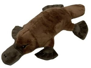 1 X PLATYPUS 27cm stuffed Australian animal cuddle buddies kids toy christmas