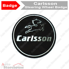 Mercedes carlsson steering wheel badge emblème