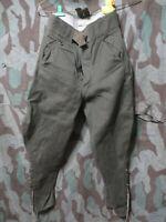 WW2 German Afrika Korps Tropical 1943 Officers Trousers Pants Uniform DAK Vet