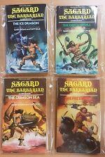 Sagard The Barbarian ***FULL SET 1-4!!*** Gary Gygax Fighting Fantasy Style