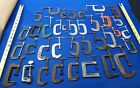 """Lot of 36 Vintage  C CLAMPS Mechanics Woodworking Shop Tool Clamps  3"""" and under"""