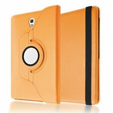 """PU LEATHER ROTATING STAND COVER CASE SLEEP/WAKE FOR SAMSUNG GALAXY TAB S 8.4"""""""