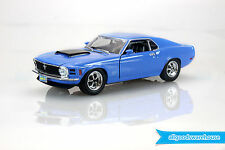 1970 Blue Ford Mustang Boss 429 American Classic 1:18 Scale Die-Cast Model Car
