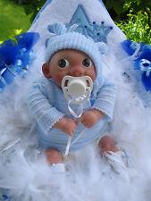 """Reborn-Baby,Fantasy-Windelbaby""""Finnley"""",Spielpuppe,Sammlerpuppe,Babypuppe,Reborn"""