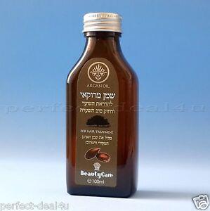 Moroccan Argan Oil 100 ml for Hair Repair Treatment Dry and Damaged Hair 3.4oz