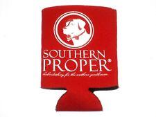 Southern Proper Beer Can Coozie Drink Holder Cooler Bottle