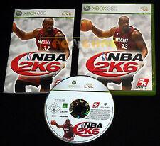 NBA 2K6 Xbox 360 Versione Ufficiale Italiana 1ª Edizione ••••• COMPLETO