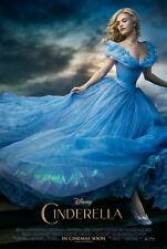 "2015 Romantic Fantasy Film Movie 24/""x36/"" Poster 017 Cinderella"