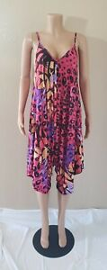 Womens Jumpsuit Pink  Multicolored