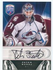 09/10 BE A PLAYER BAP SIGNATURE AUTOGRAPH AUTO PETER BUDAJ AVALANCHE *50396