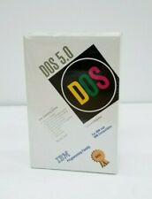 NEW and Sealed MS DOS 5.0 Version 5.02 For IBM and Compatibles (1992)