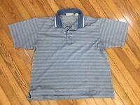 Nicklaus Men's Blue Golf Polo Shirt Size XL