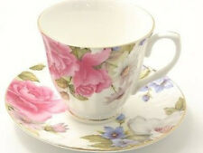 """Grace's Rose""   Tea Cup and Saucer"
