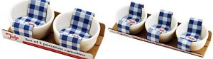 Tala Porcelain Ramekins Ceramic Bowls Serving Desserts Souffles Creme Brulees