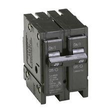 Eaton 20-Amp Double-Wide-Pole Fuse Trip Box Bryant Circuit-Breaker Switch BR220