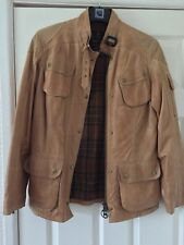 Barbour International leather jacket size 12. The Photos Don't Do It Justice.