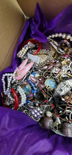 Necklaces Pins Earrings Vtg Mod Jewelry Lot