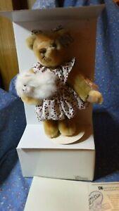 """NIB (Box Wear) Annette Funicello Bear Buddies Precious 8 1/2"""" H & Bailey 5"""" High"""