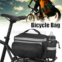 Cycling Bike Bicycle Bag Rear Rack Seat Trunk Saddle Tail Storage Pouch Hot QZ