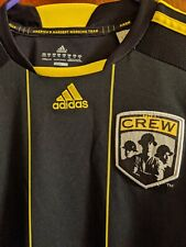 Vintage Adidas MLS Futbol Soccer The Columbus Crew Jersey Size XL Climalite