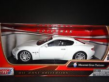 Motormax Maserati Gran Turismo White 1/24
