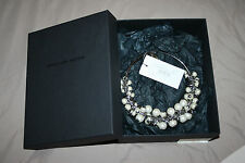 BNIB Dries van Noten A/W 2014 Faux Pearl Embellished Necklace