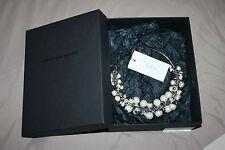 BNIB Dries van Noten A/W 2014 Faux Pearl Embellished Necklace