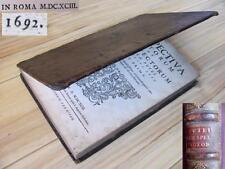 1693 1ST EDITION PERSPECTIVA PICTORUM ET ARCHITECTORUM BY ANDREA PUTEI XTR.RARE