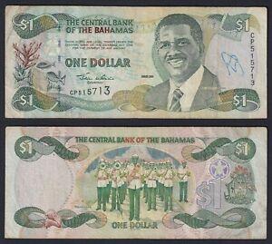 Bahamas 1 dollar 2001 BB/VF  A-10