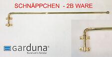 Preishammer - Garduna Gardinenstange schwenkbar 60-100cm, messing-glanz, 2B-Ware