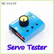 RC Accessories Servo Tester Speed Controller Multi Power Channels ECS Checker